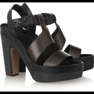 Rag & Bone Stearn Leather Platform Sandal